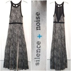 Anthropologie Silence and Noise Split Maxi